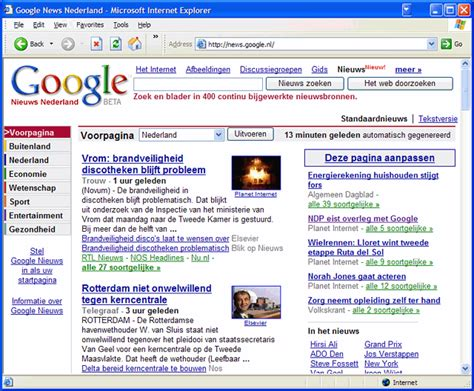 google news google news nl
