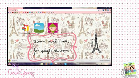 themes google chrome by sriitadewatt on deviantart pink paris theme for google chrome by anahiigomez on