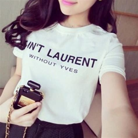 Kaos Ain T Laurent Without Yves 80 yves laurent tops quot ain t laurent without