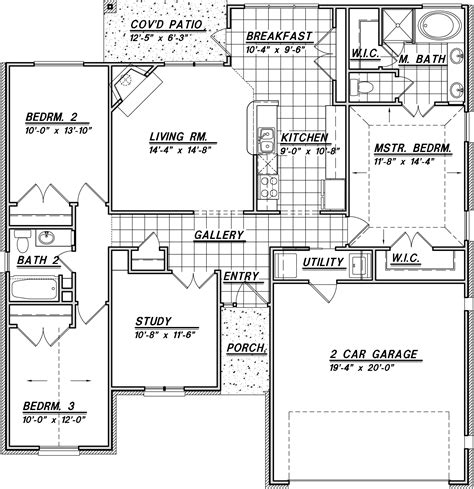 one story house plans 1500 square feet 2 bedroom 1500 sq ft house map ideas with square foot plans arts