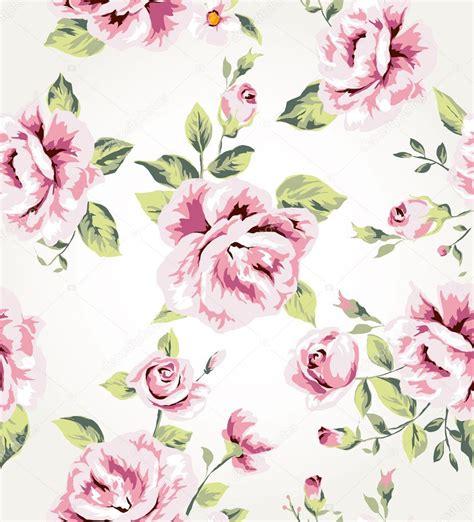 flower pattern vector background de fundo vector sem costura flor vintage vetor de stock