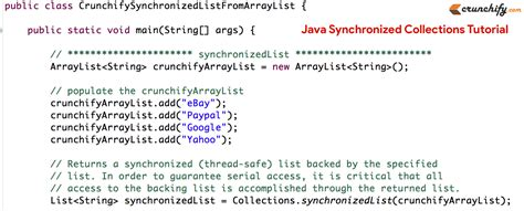 java pattern leading zeros what is java synchronized collections complete tutorials