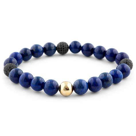 len versand lapislazuli perlenarmband blauer abgrund kostenloser