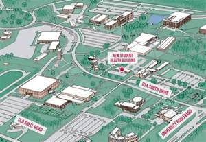 south college map map