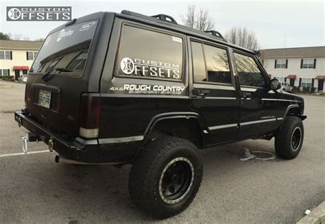 baja jeep cherokee wheel offset 1999 jeep cherokee aggressive 1 outside