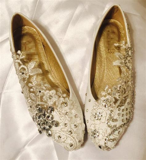 Is Lace Comfortable by Vintage Lace Wedding Shoes Bridal Ballet Shoes Lace Flats