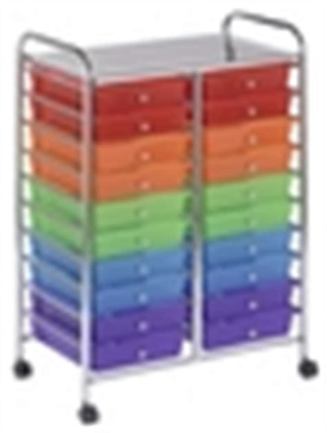 20 Drawer Mobile Organizer by 20 Drawer Mobile Organizer With Chrome Plated Top Shelf