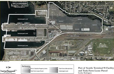seattle map pier 91 site information