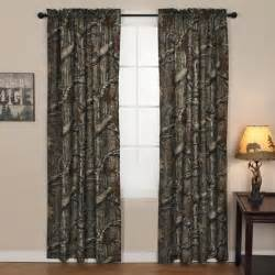 Mossy Oak Home Decor by Mossy Oak Window Curtain Panel Pair 40 Quot X84 Quot