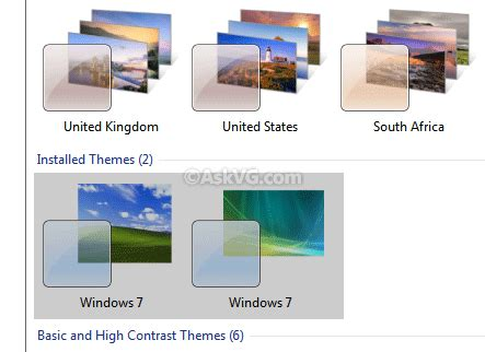 themes for computer names how to show actual theme names in windows 7 desktop