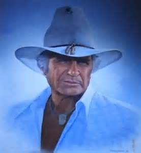 dallas ewing missing portrait of jock ewing the return of dallas