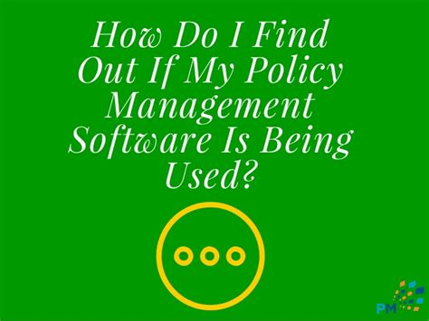 How Do I Find Out What Is On My Criminal Record How Do I Find Out If My Policy Management Software Is Being Used