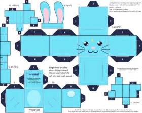 moon bunny cubee 183 how to make a papercraft 183 art