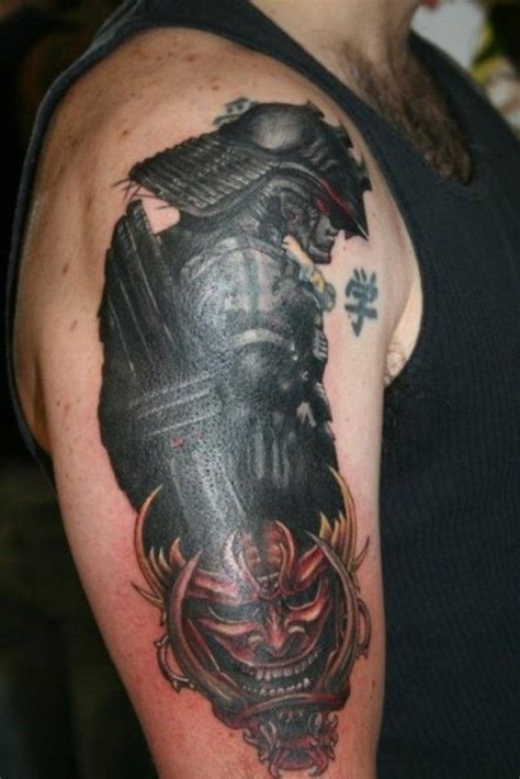 collection of 25 samurai half sleeve tattoo design for men
