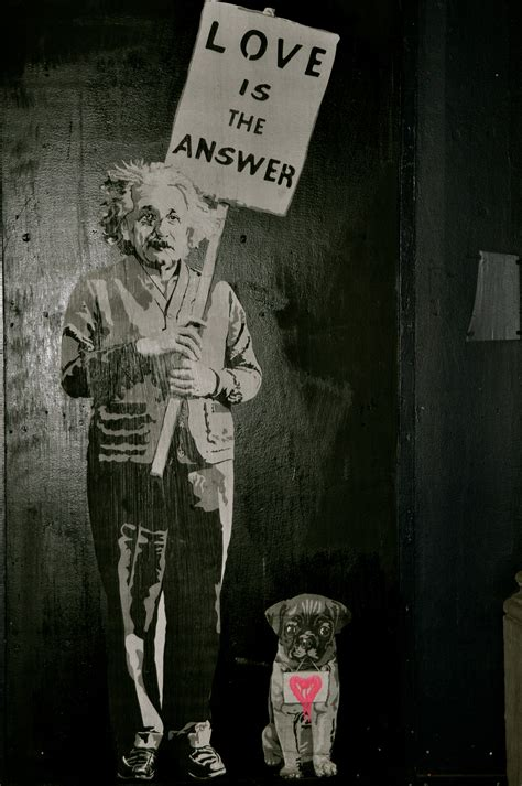 Is The Answer is the answer banksy a visual daydream