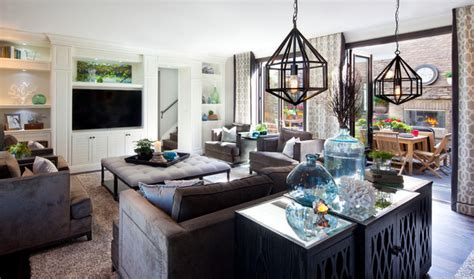 stylish transitional family room robeson design san bright family room robeson design transitional family