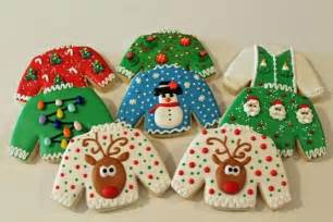 ugly christmas sweater cookies 2013 2 christmas is in the air pin