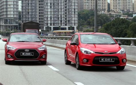 Kia Forte Vs Kia Cerato Kia Cerato Koup And Hyundai Veloster Turbo Duke It Out In