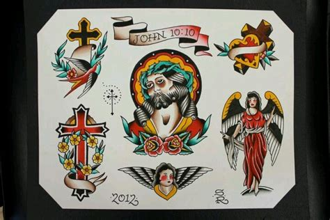 christian tattoo flash art religious tattoo flash by steve rieck las vegas art by