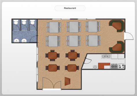 restuarant floor plan restaurant floor plans software design your restaurant