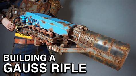 repliche lade design fallout 4 building a gauss rifle replica the last