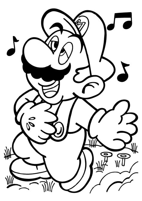 mario coloring pages for adults free printable mario coloring pages for kids mario party