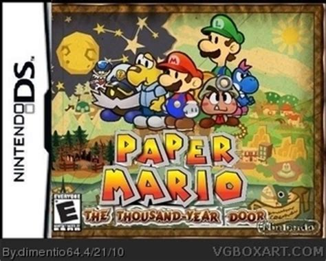 Paper Mario And The Thousand Year Door by Paper Mario The Thousand Year Door Nintendo Ds Box