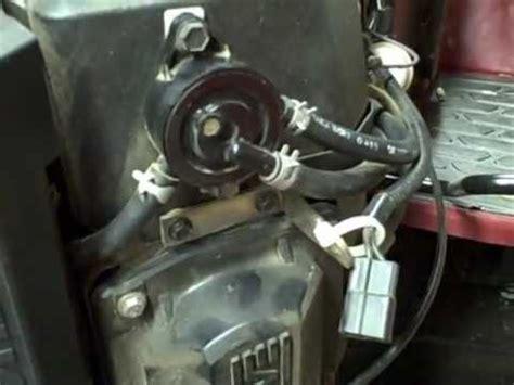 small engine repair: checking a vacuum fuel pump / fuel
