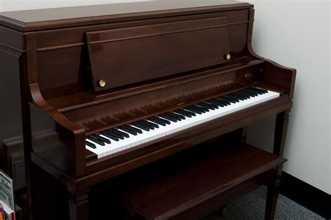 rice music house upright piano bench frederick extended upright piano bench walnut satin ebay image