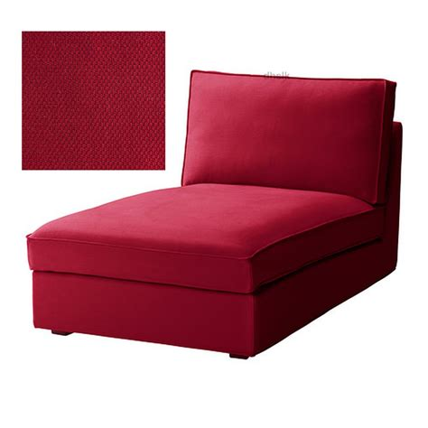 kivik slipcover ikea kivik chaise slipcover cover dansbo medium red bezug