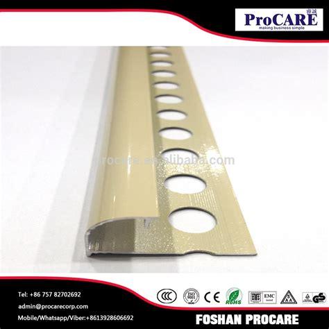 piastrelle alluminio alluminio piastrelle beige finitura dei bordi trim