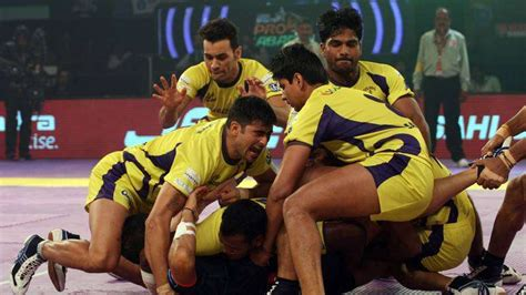 telugu titans team photos in 2018 telugu titans team players pro kabbadi league 2016