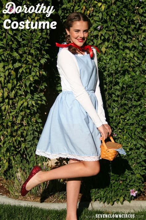 Handmade Dorothy Costume - costumes easy costumes and costumes on