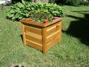 made planter box cedar outdoor by jm wood