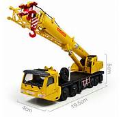 KDW 155 O Scale Diecast Mega Lifter Crane Construction Vehicle Cars