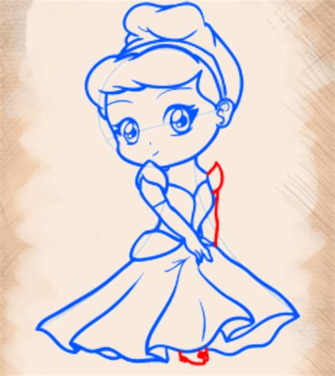 tutorial menggambar menggunakan pensil cara menggambar chibi blonde princess goyang pensil