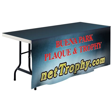 Table Banner by Banner Custom Table Cover Nettrophy