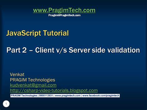 javascript tutorial server side sql server net and c video tutorial october 2014