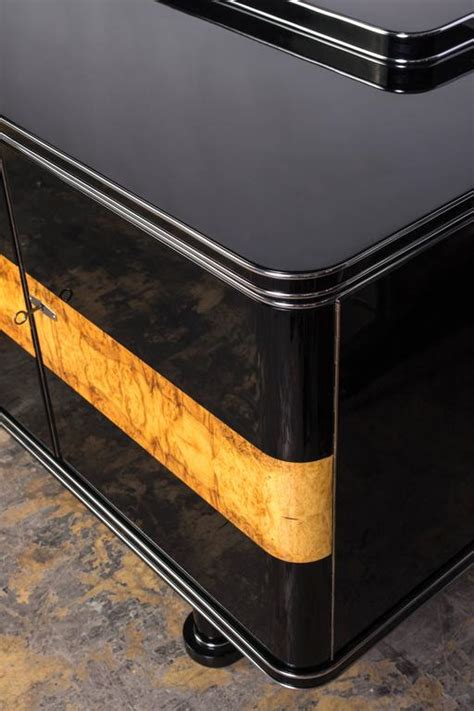 Deco Buffet 1277 by Colossal Deco Sideboard For Sale At 1stdibs