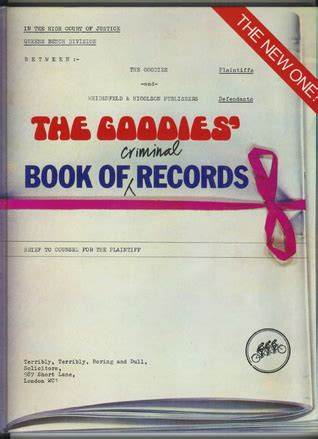 I Want To See My Criminal Record For Free The Goodies Book Of Criminal Records By Tim Reviews Discussion