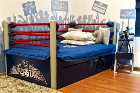 wrestling ring bed for sale about that wwf wrestling bed dave s geeky ideas
