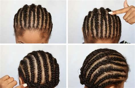 best way to braid hair for a sew in crochet braid pattern best braid pattern for crochet braids