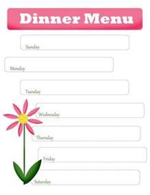 free printable blank menu templates 8 best images of printable blank dinner menu templates