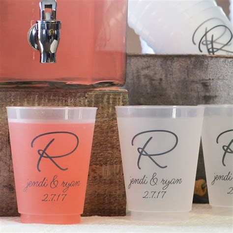 Printed Glass Cup ideas pretty personalized plastic cups for cool drinkware