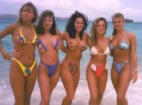 80 pubic hair bikini babes through the decades