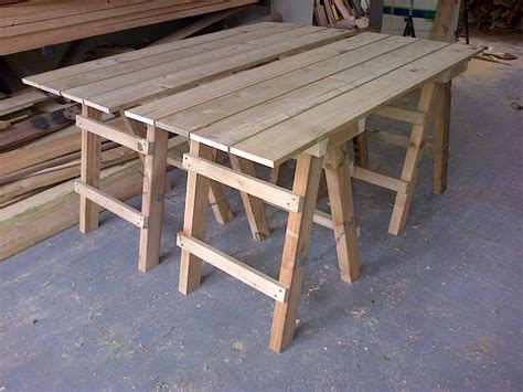 wooden trestle legs collapsible trestle the wooden workshop oakford