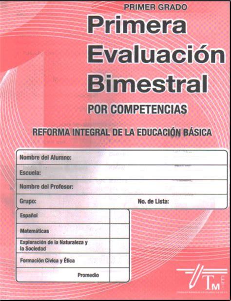 evaluaciones bimestrales para primaria recursos e informacin para examenes bimestrales de telesecundaria tercer grado