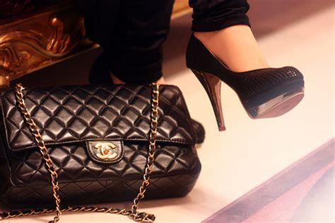 chanel fashion heels high heels shoes image 307729