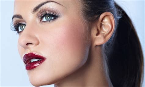 $16 eyebrow makeover package bliss make up and tan | groupon