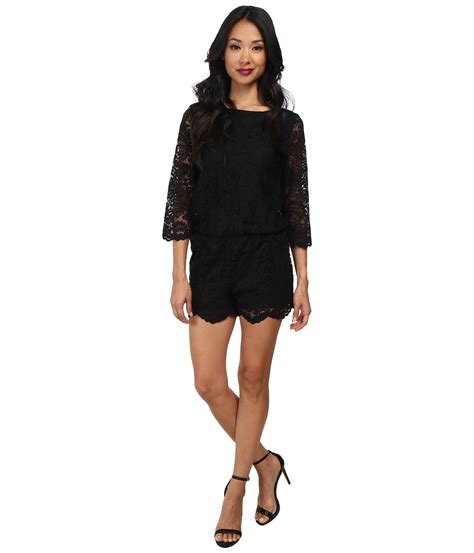 Romper Mike michael lace romper shipped free at zappos